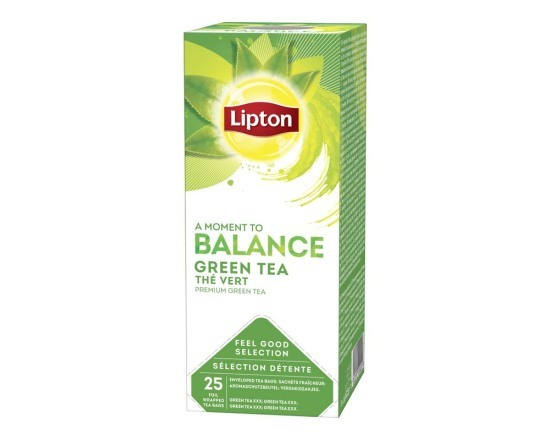 LIPTON FGS Green Tea 6 x 25 zk.