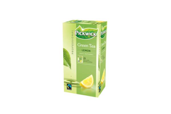 PW TEA PROF GROENE THEE LEMON fairtrade 3 x 25 x 2 gram
