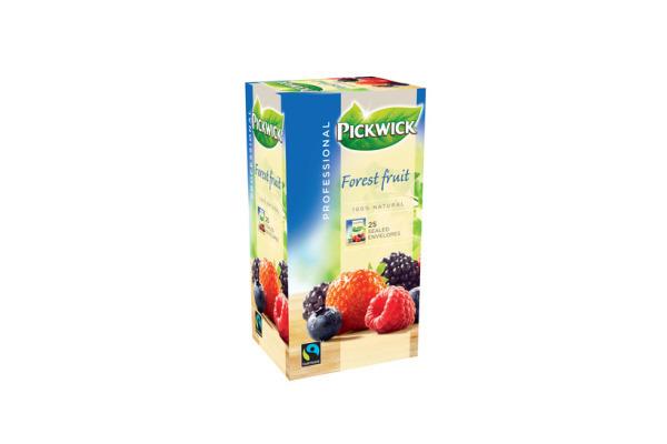 PW TEA PROF BOSVRUCHTEN FAIRTRADE 3 x 25 x 2 gram