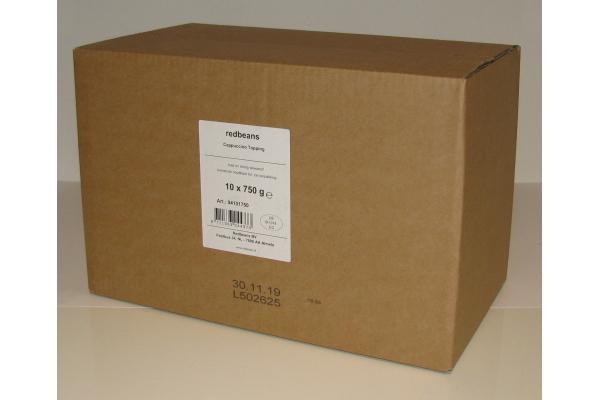 REDBEANS CAPPUCCINO TOPPING 10 x 750 gr.