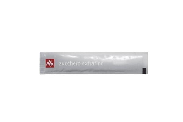 illy suikersticks (zilver) 500 stk
