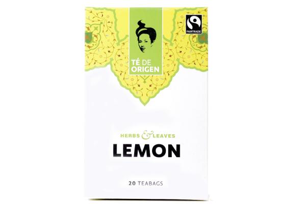 TE DE ORIGEN Lemon 6x20x2gr.fairtrade+ bio