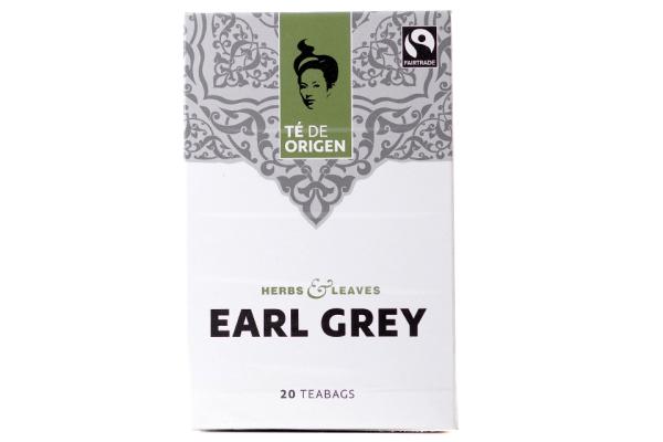 TE DE ORIGEN Earl Grey 6x20x2gr.fairtrade+ bio