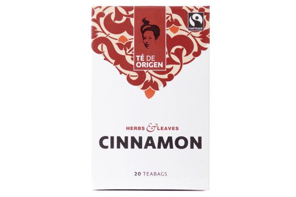 TE DE ORIGEN Cinnamon 6x20x2gr. fairtrade+ bio(UITLOPEND ARTIKEL)