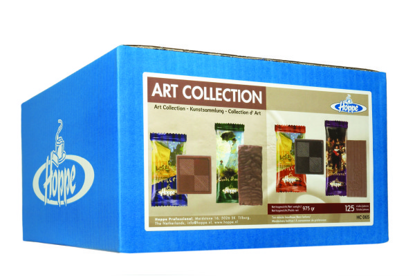 HOPPE ART COLLECTION koekjes 125 stuks