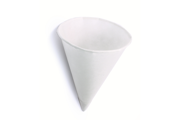 WATERCONE PUNTBEKER karton 70.3 mm 4.5 oz wit ds 5000 stuks
