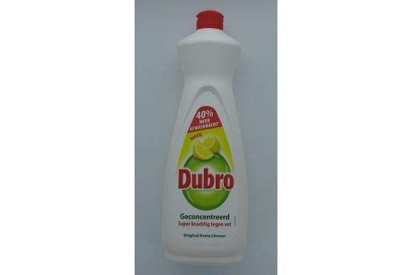 DUBRO AFWASMIDDEL extra CITROEN  3 fles a 900 ml