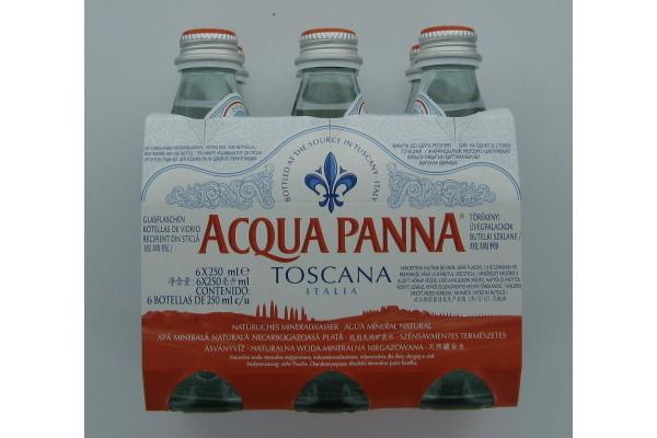 ACQUA PANNA zonder koolzuur doos 24 flesjes 25 cl