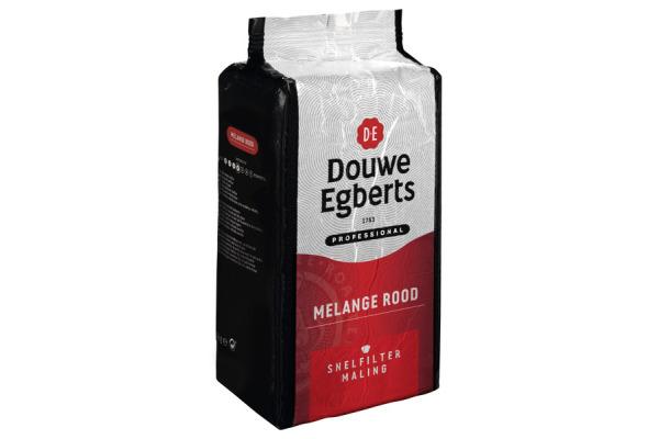 DOUWE EGBERTS snelfiltermaling melange ROOD 6 x 1 kg.