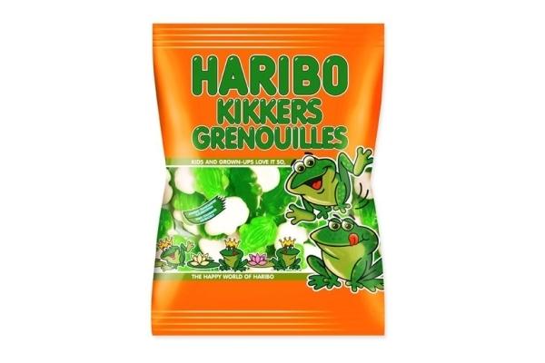 HARIBO KIKKERS 30 zakjes van 75 gram