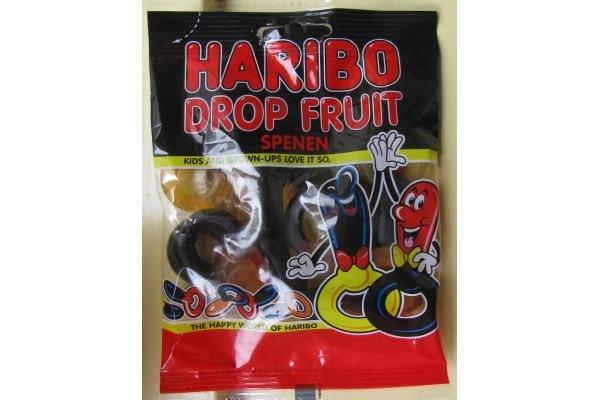 HARIBO DROP FRUIT SPENEN  30 zk. a 75 gram