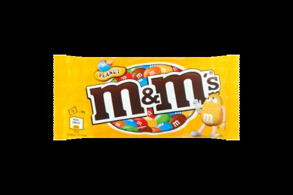 M&M GEEL PINDA 24 stuks