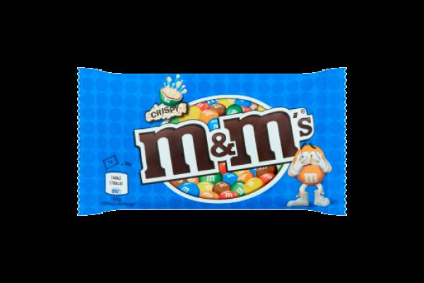 M&M CRISPEY  24 x 36 gram
