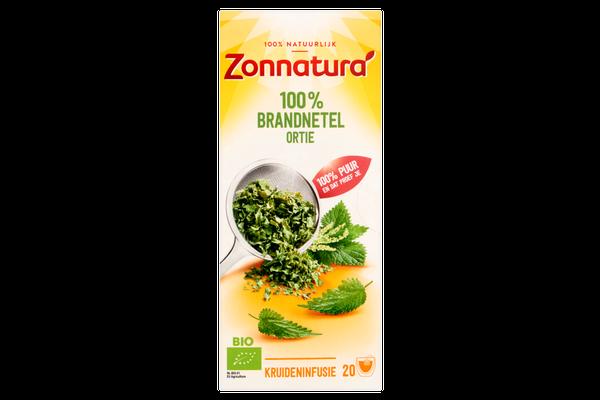 ZONNATURA THEE BRANDNETEL 6x20x2gram