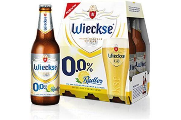 RADLER WIECKSE 0.0 % BIER tray 24 flesjes a 33 cl.