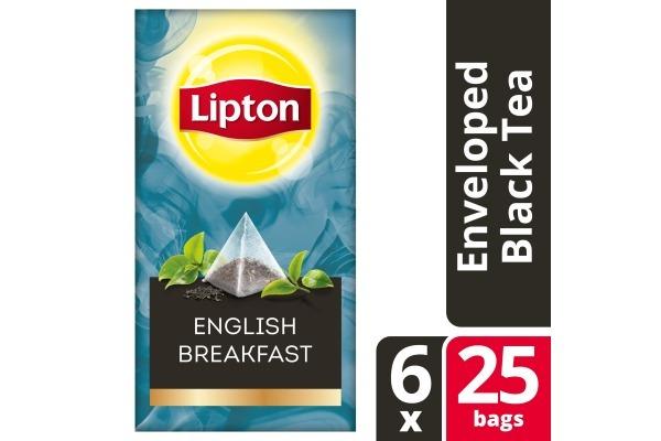 LIPTON TEA EXCLUSIVE SELECTION English Breakf. 6x25 envel.