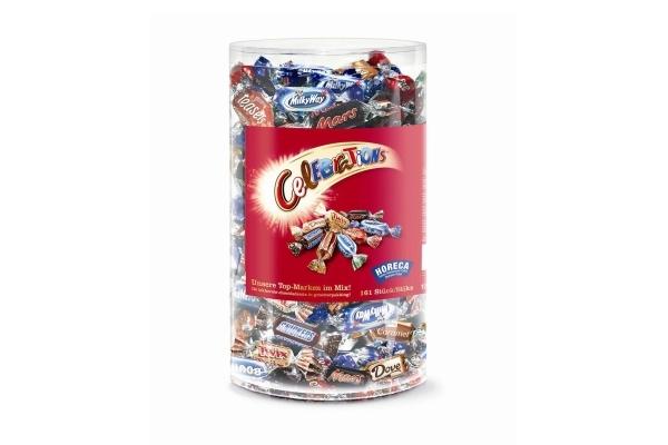 CELEBRATIONS chokolade snoepjes silo 1500 gram
