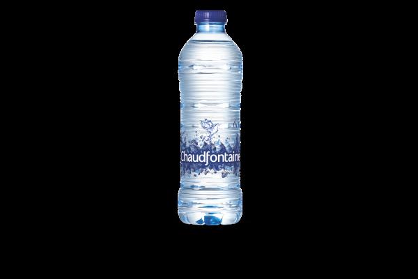 CHAUDFONTAINE WATER BLAUW PET FLES  0.5 L. 24 stk