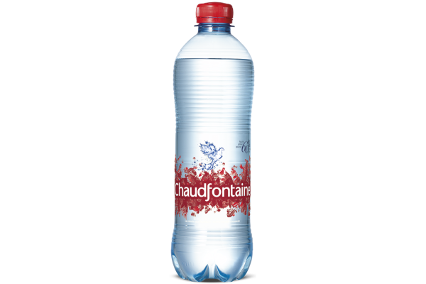 CHAUDFONTAINE WATER ROOD PET FLES  0.5 L. 24 stk