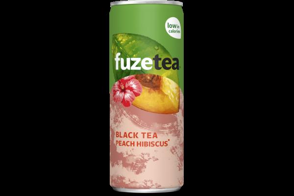 FUZE TEA PEACH HIBISCUS   blik 24 x 0.25 cl