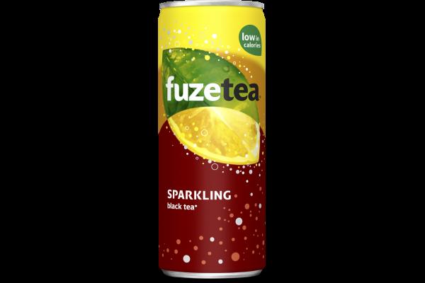 FUZE TEA LEMON SPARKLING    blik 24 x 0.25 cl