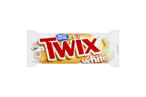 TWIX WHITE SINGLE TWIN