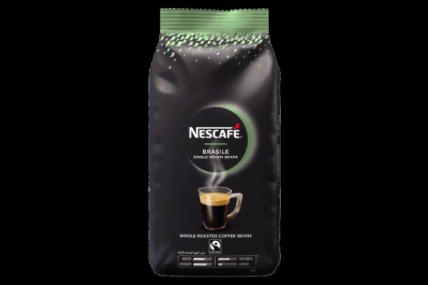 Nescafé koffiebonen brasil FT zak 1 kilo