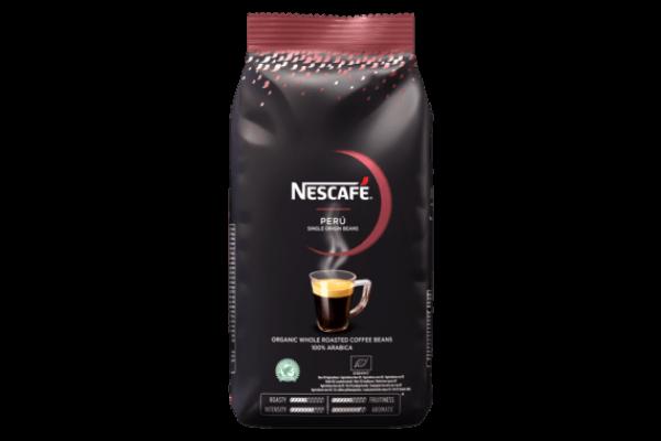 Nescafé koffiebonen peru RFA doos 10 x 1 kilo