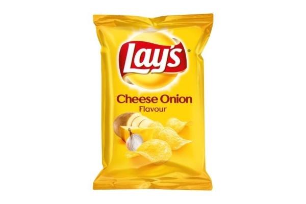 LAYS CHIPS Cheese Onion 20 stuks