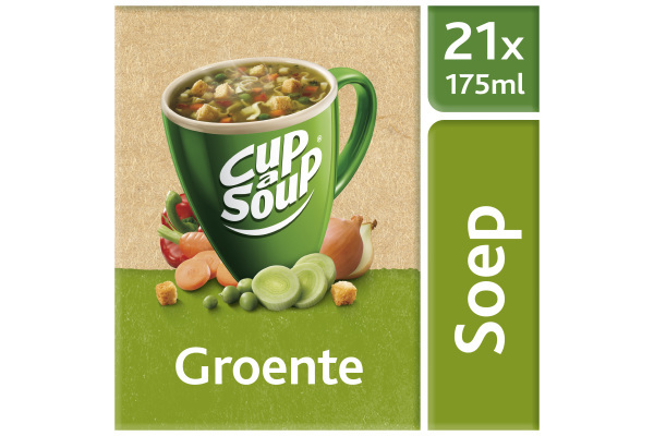 CUP-A-SOUP GROENTE ds 21 zk 175 ml