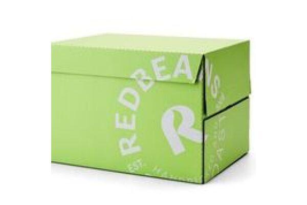 REDBEANS ESPRESSO GREEN LABEL (Bio+FT) ds. 8 x 1kg