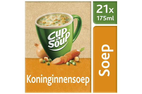 CUP-A-SOUP KONINGINNE ds 21 zk 175 ml