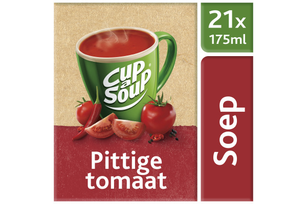 CUP-A-SOUP PITTIGE TOMAAT ds 21 zk 175 ml
