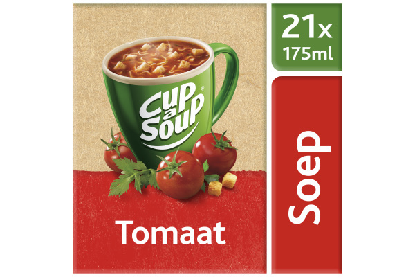 CUP-A-SOUP TOMAAT ds 21 zk 175 ml
