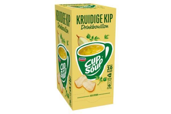 CUP-A-SOUP DRINKBOUILLON KRUIDIGE KIP ds 26 zk 175 ml