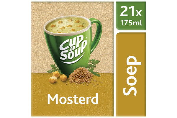 CUP-A- SOUP MOSTERD ds 21 zk 175 ml