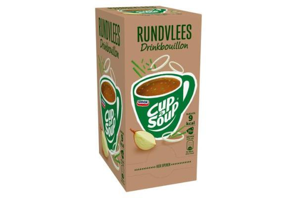 CUP-A-SOUP DRINKBOUILLON RUNDVLEES ds 26 zk 175 ml