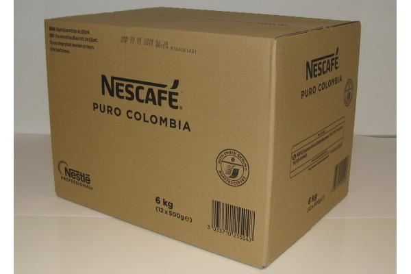 NESCAFE PURO COLOMBIA VENDING ds 12x 500 gram